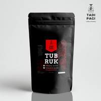 Kopi tubruk Arabika blend special Tadi Pagi Coffee Roastery