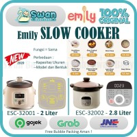 Emily Slow Cooker 2L and 2.8L / Mpasi bayi