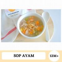 Mpasi Sop Ayam Kampung / No preservatives / No MSG