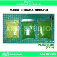 Serbuk Rumput Bahan Maket, miniatur, diorama (Part1)