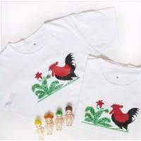 T-shirt ayam jago
