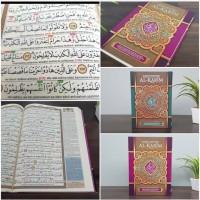 Alquran Tajwid Al-Karim A4 - Al Quran AlKarim Terjemah dan Latin