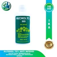 Alkohol Ika 70 persen Sol 100Ml -Antiseptik -Disenpektan