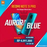 Xiaomi Redmi Note 9 Pro 8/128 8 128 gb New Segel Garansi Resmi