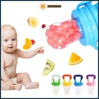 SANSTATION Baby Fruit & Food Feeder/ Empeng Buah Bayi/ Dot Buah Bayi - S, Merah Muda