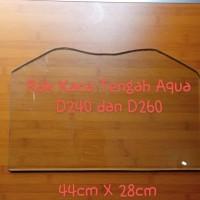 Rak Kaca Kulkas / Lemari Es sanyo Aqua AQR D240, D260 dan D256