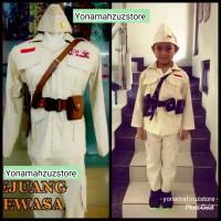 baju seragam profesi kostum pejuang anak dan dewasa karnaval