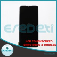 LCD TOUCHSCREEN OPPO RENO 3 SUPER AMOLED KD-112732 - Black