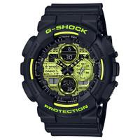 Jam Tangan Pria Casio G-Shock Special Color Black Resin GA-140DC-1ADR