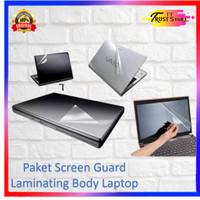 Paket Antigores Layar & Laminating Body Laptop