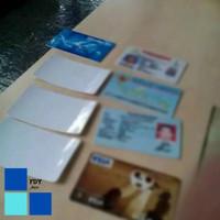 Stiker Anti Gores Laminating KTP SIM Kartu Kredit Credit Card ATM