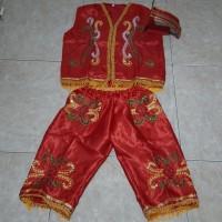 Baju adat dayak anak laki SD