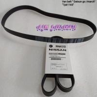 van belt / fan belt march , datsun go 7pk 1165 tali kipas original