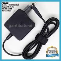 Adaptor Charger Laptop Asus E202 E202S E202SA 1.75A Micro USB Original