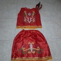 Baju adat dayak anak SD