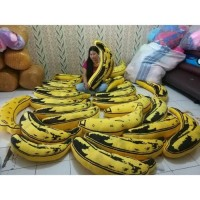 Grosir Banana pillow / bantal guling pisang / bantal unik Limited