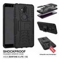 Armor Case Asus Zenfone 5 Lite 5q ZC600KL Soft & Hard Casing Cover Gel