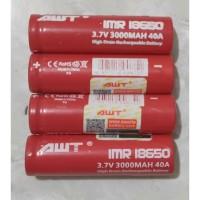 Baterai AWT 18650 3400 mAh