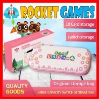Nalan Storage Bag / Case / Pouch Animal Crossing N Switch (Pink)