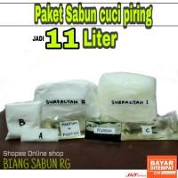 Bahan Sabun Cuci Piring Jadi 10 L- Paket Hemat Bahan Sabun Cuci Piring