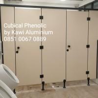 Pintu Toilet/ Cubical Toilet Door / Partisi Phenolic