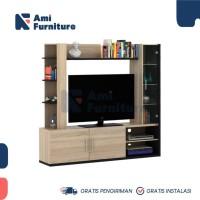 Wall Unit/Rak Tv Penyekat ruangan seri NEXA WU 180 merk ACTIV