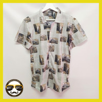 Baju Kemeja Motif Printing Hawai Pria Wanita Import Village Photos
