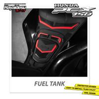Hayaidesu PCX Fuel Cap Tank Pad Body Protector Cover Tutup Tangki