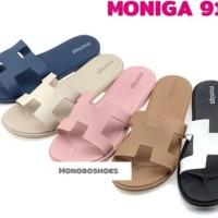 Sandal Wanita Moniga 913 Original - Biru Navy, 6/37