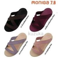Sandal Wanita Moniga 7.8 Original - Beige Pink, 6/37
