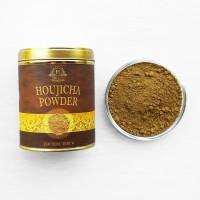 Houjicha Powder Japanese Green Tea ( Teh Hojicha Powder Bubuk ) 100gr