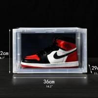 Kotak Sepatu Sneaker - Premium Quality [CLEAR-TEBAL-EXTRA BESAR]
