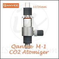 Qanvee M-1 Atomizer 12/16 Out Tank M1 CO2 Inline Diffuser Atomizer