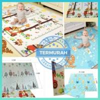 Playmat Premium Anak Bayi Lipat Tebal 1cm Double Pad( Bonus Tas)