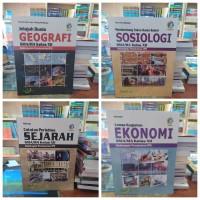 BUKU PAKET SMA KELAS 12 Geografi-Sosiologi-Sejarah-Ekonomi K13 BAILMU