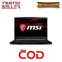 LAPTOP MSI GAMING GF63 9SCXR-838 |I5-9300|8GB|256GB|GTX1650 4GB|Win10