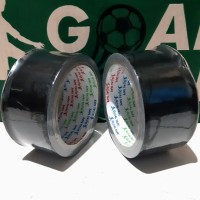 "LAKBAN KAIN HITAM/ CLOTH TAPE HITAM 2""(48MM× 9M) MURAH!! BEST QUALITY"