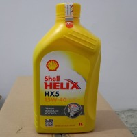 Oli mesin shell Helix HX5 15W 40 isi 1liter