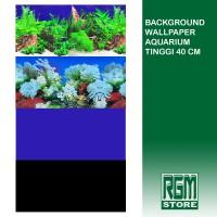 wallpaper background aquarium tinggi 40 cm aquascape