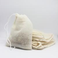 Eco-Friendly Reusable Tea Bag / Kantong Teh Filter Kain Katun Serut
