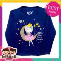 Kaos / Baju Anak Lengan Panjang Murah Lollipop Dream Girl 1-10 Tahun