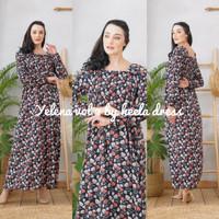 Daster Arab Heela Dress Yelena Vol. 2 by Heela Dress Original - Hitam