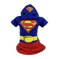 Baju Anak Kostum Topeng Superhero SuperGirl (Size 10, 12 dan 14) PR055