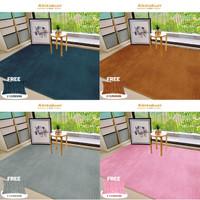 Kintakun Karpet Selimut Luxury 150 x 200 FREE 2 Bantal Cushion