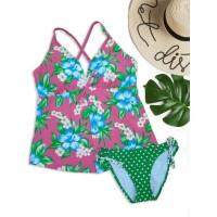 Baju Renang Swimwear Tankini Dewasa TKD182 - XL