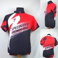 Kaos/Baju/Jersey Balap Sepeda/Gowes Pendek Specialized
