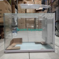 Sobo Cl 300F Aquarium Set With Mini Filter Led Lamp Sobo Wp 200Sp