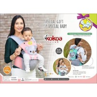 Gendongan Bayi Gendongan Baby Joy Hipseat Kokoa Series - BJG 3029