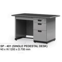 Meja Kantor Alba Sp 401 Uk.120 X 70 X 74 Cm Milomart12