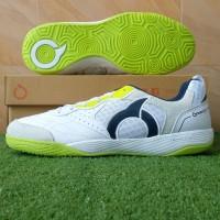 Sepatu Futsal Ortuseight Jogosala Rampage - White/Lime Green - 39